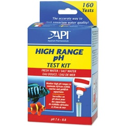 Aquarium Pharmaceuticals (API) High Range pH Test Kit API Test Kits