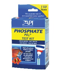 Aquarium Pharmaceuticals API Phosphate Test Kit Aquarium Pharmaceuticals Phosphate Test Kit