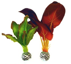 BiOrb Decorations Easy Plants Silk Collection: Small Red/Green Silk Plant