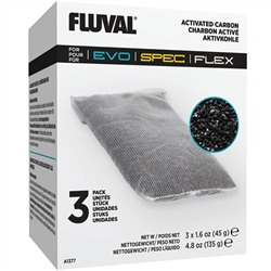 Hagen Fluval Spec Activated Carbon 3 Pack A1377