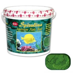 Ocean Star International Spirulina Flake 2.2 lb OSI Spirulina Flakes